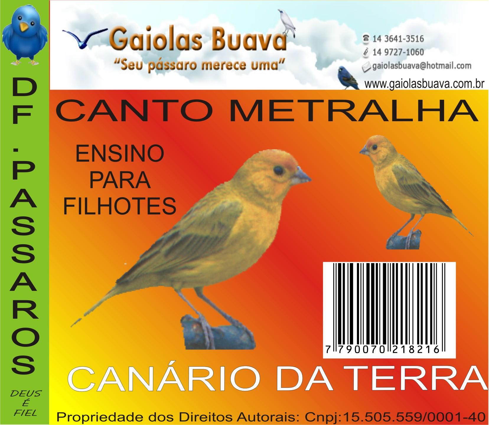 cd canario terra metralha